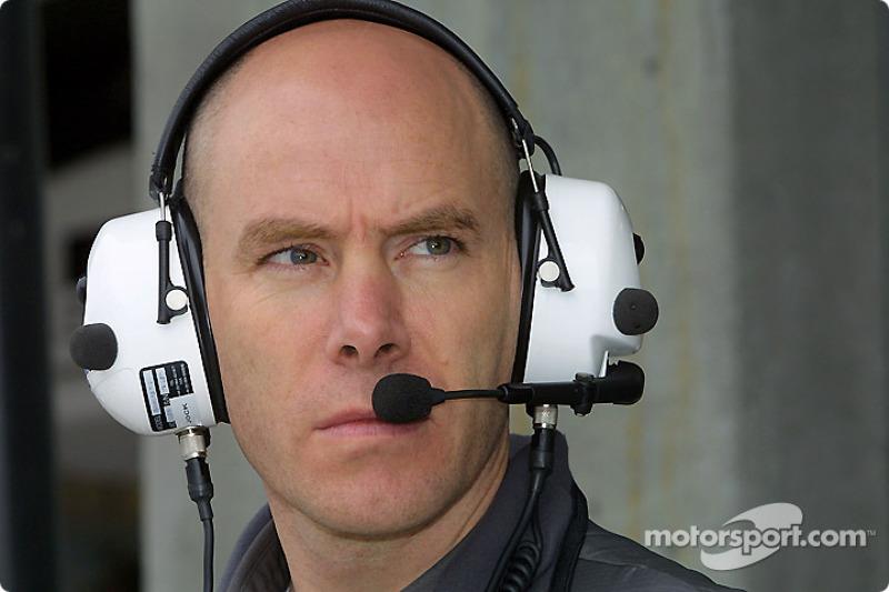 Jock Clear, race engineer for Jacques Villeneuve