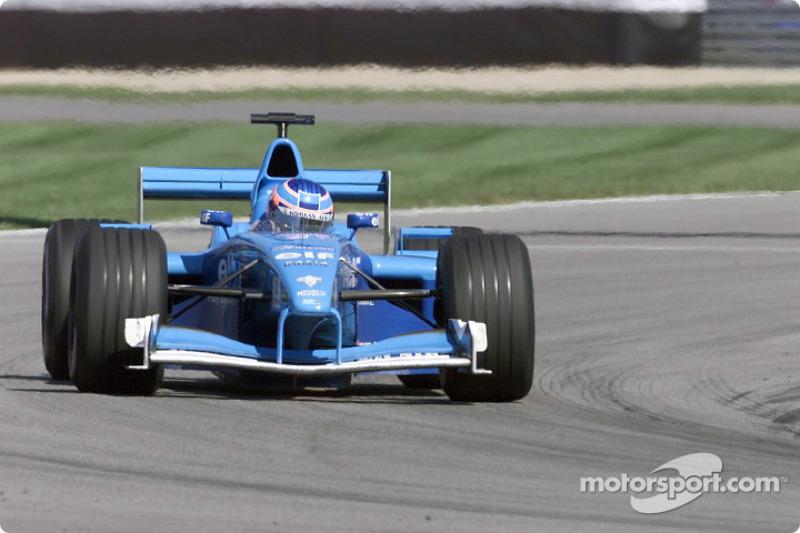 Jenson Button au GP des États-Unis