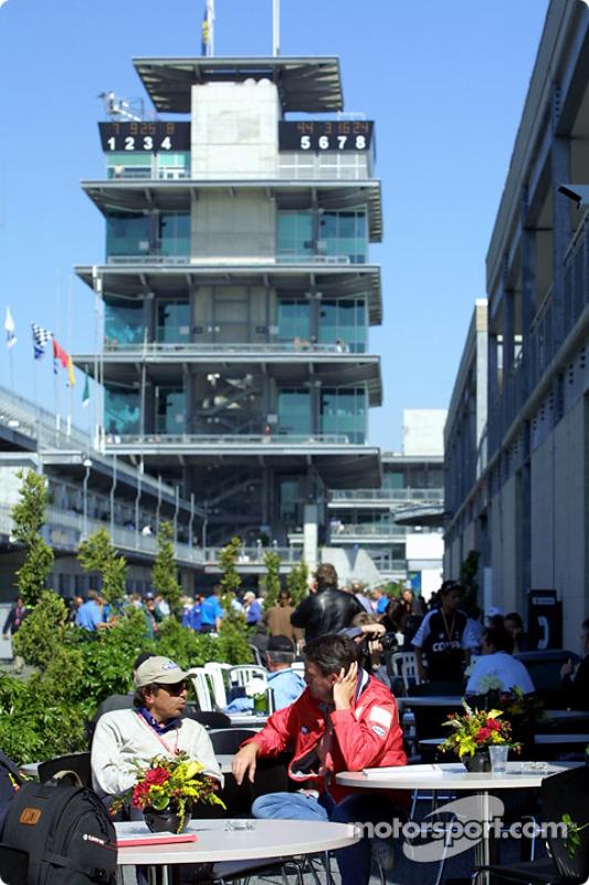Indianapolis paddock