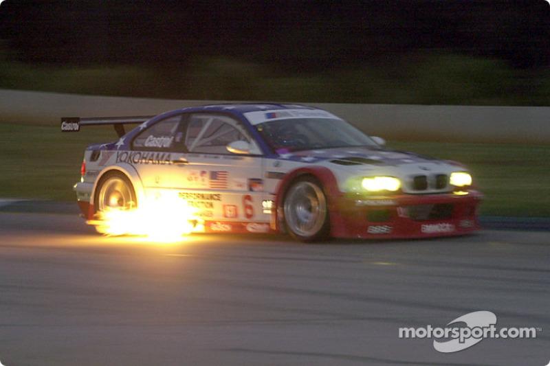 Hans Stuck in the Team PTG BMW M3
