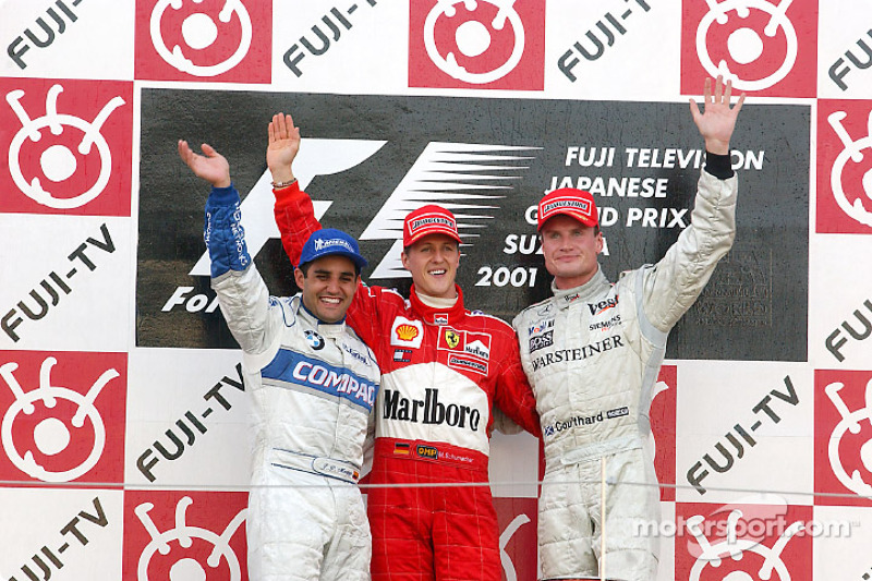 Most podiums in a row : 19