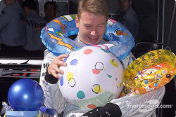 Already Christmas for Mika Hakkinen