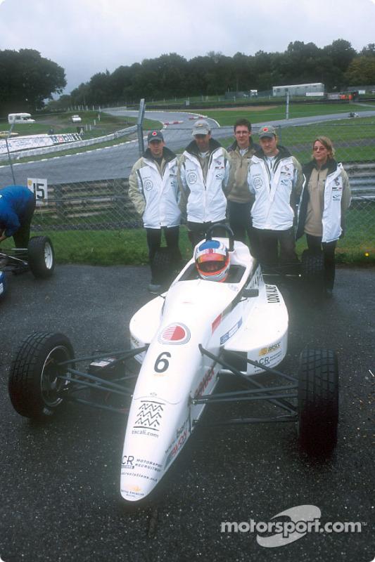 David Lloyd and the team