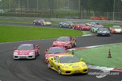 Ferrari 360 Challenge: start