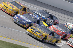 Matt Kenseth at the head of the pack