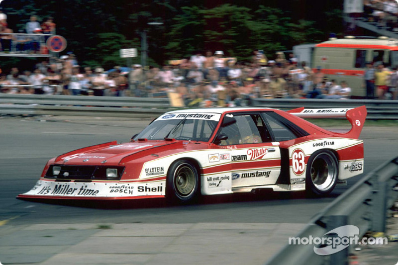 Klaus Ludwig S Miller Mustang Was Powered By A Turbocharged