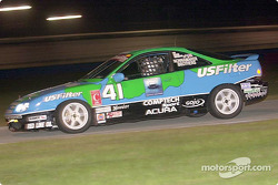The #41 Acura Integra of Wayne Nonnamaker, Will Nonnamaker, Joe Nonnamaker and Bill Pate won the C2K class in the Grand-Am Cup finale