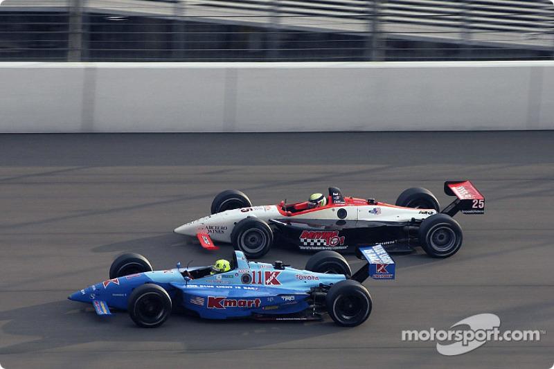 Christian Fittipaldi and Alex Barron