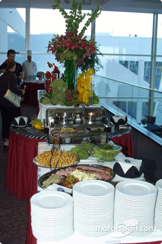 Display of food
