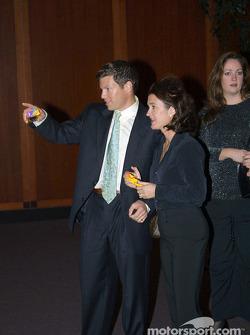 Scott Sharp avec sa femme Kimberly