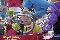 Jake Crum on Junior Sportsman-1 Lite's grid