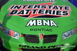 El Pontiac de Bobby Labonte antes de la carrera