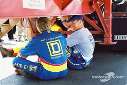 Bobby Hamilton and Michael Waltrip