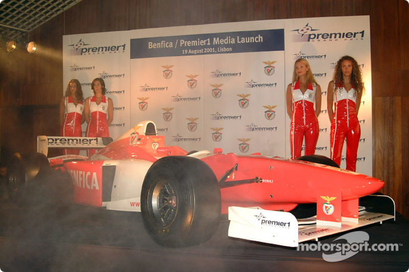 Benfica Footbal Club Premier1 car launch