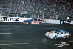 Dale Jarrett in the wall