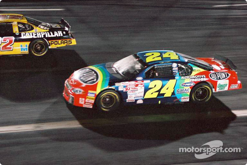 Jeff Gordon und die Legende vom Rainbow-Warrior