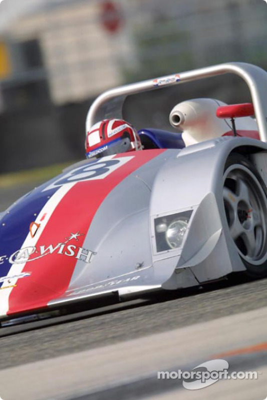 Rand Racing Nissan Lola practices at the Grand-Am Finale