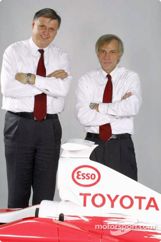 Norbert Kreyer and Gustav Brunner