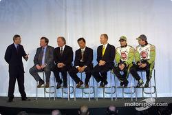 Entrevista con David Richards, Toru Ogawa, Malcolm Oastler, Jacques Villeneuve y Olivier Panis
