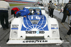 The #16 Dyson Racing Riley & Scott at Grand-Am testing in Daytona on Saturday