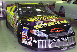 The #48 Stacker 2-sponsored Innovative Motorsports Chevrolet Monte Carlo of Kenny Wallace
