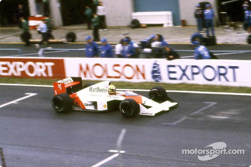 40-й поул: Айртон Сенна, Гран При Испании, 1989 год