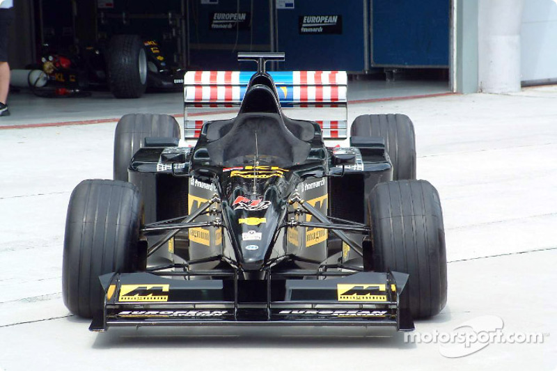 The Minardi Asiatech two-seater