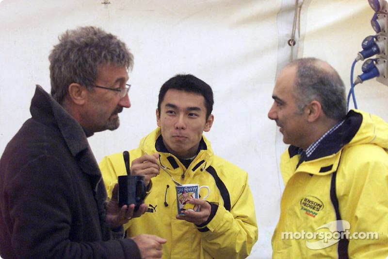 Eddie Jordan et Takuma Sato