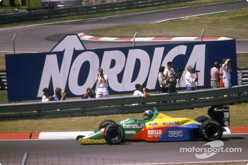 Алессандро Нанніні, Benetton B188 Ford