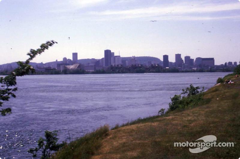 Montreal desde la Isla Notre-Dame