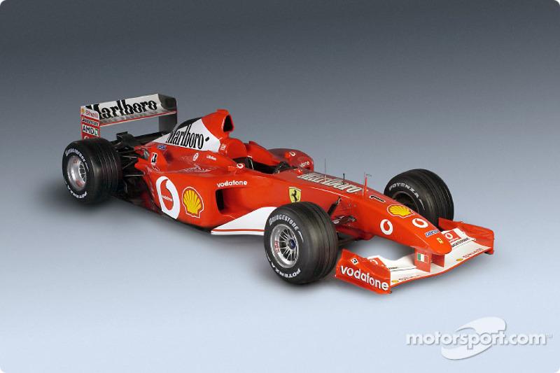 The new Ferrari F2002