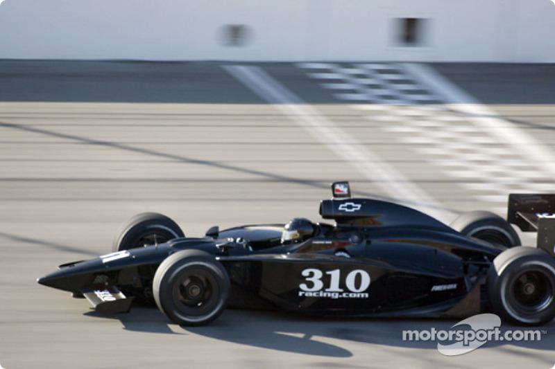 George Mack in the Cunningham Racing #31 car