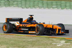 New Arrows driver Heinz-Harald Frentzen