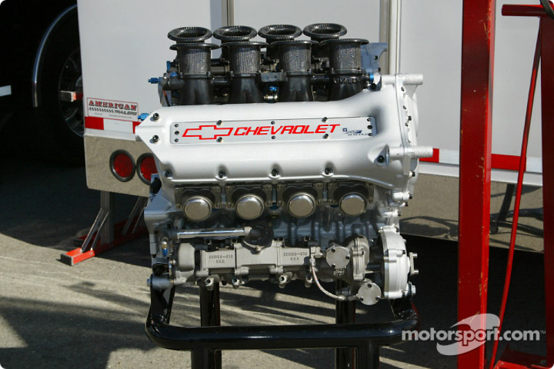 IRL Chevrolet engine