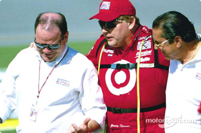 Chip Ganassi and Jimmy Spencer
