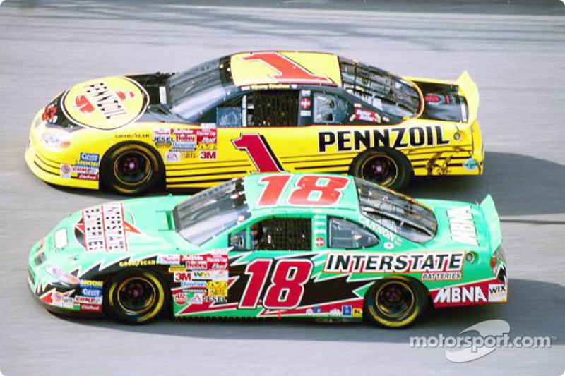 Bobby Labonte and Kenny Wallace