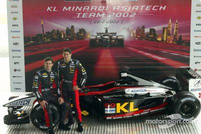 Minardi Asiatech PS02 launch