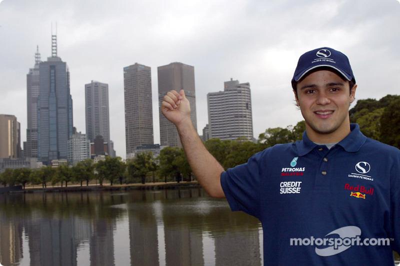 Felipe Massa à Melbourne