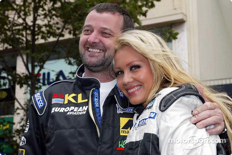 Paul Stoddart and Sarah Jane