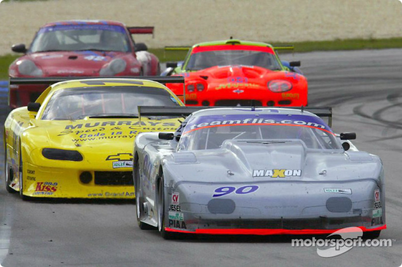 The Flis Motorsports #90 Corvette took its first American GT victory