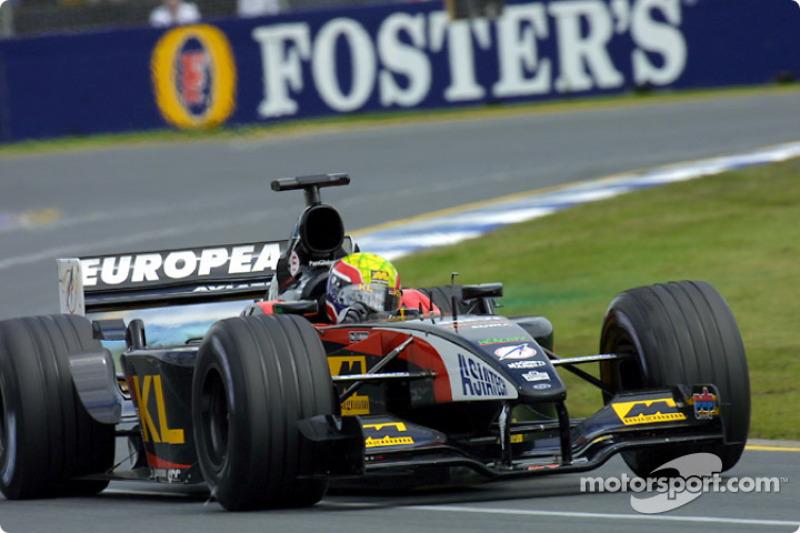Mark Webber: Grand Prix von Australien 2002