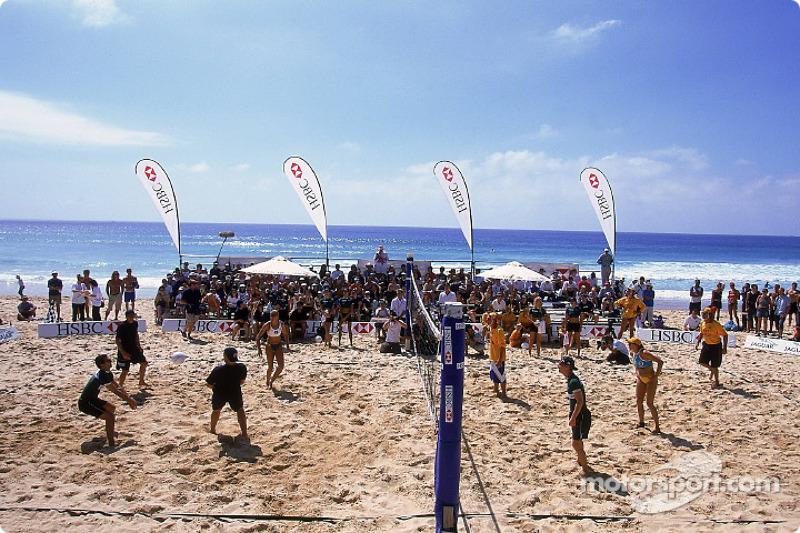 Beach Volleyball on Manly Beach in Sydney