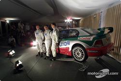 Фредди Лойкс, Томаш Кучар и Армин Шварц презентуют новый Hyundai Accent WRC3