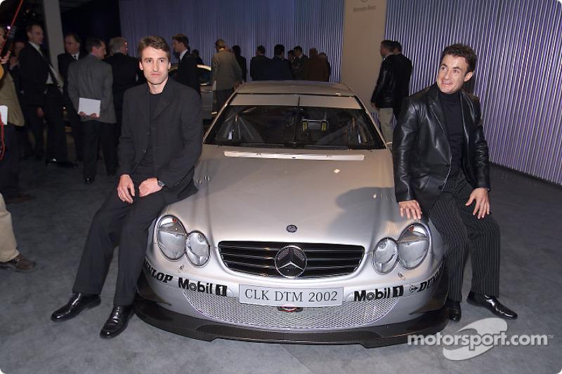 Bernd Schneider et Jean Alesi