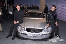 AMG Mercedes-Benz CLK-DTM 2002 launch, Geneva Motor Show