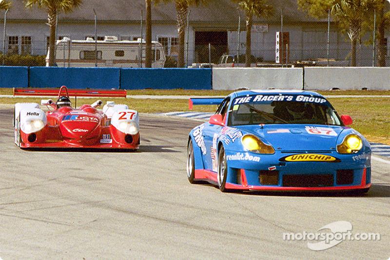 Porsche GT3 R et Doran Lista Dallara-Judd