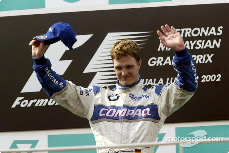 Race winner Ralf Schumacher