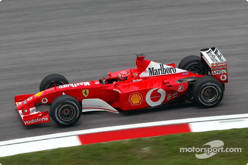 2002 Malaysian GP, Ferrari F2001
