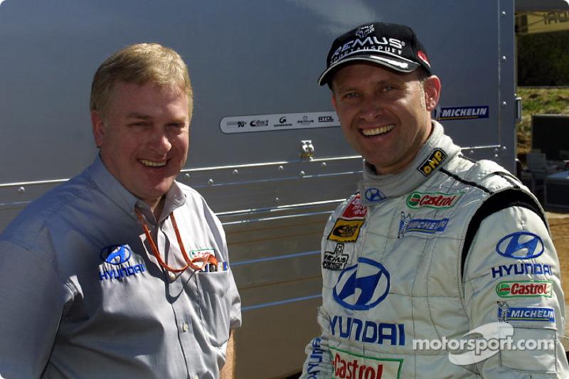 Armin Schwarz and David Whitehead