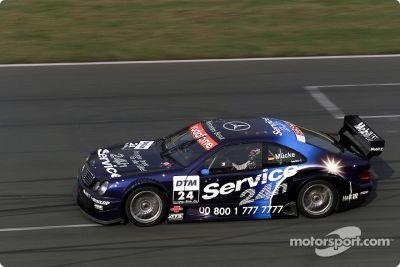 AMG Mercedes-Benz March 2002 test